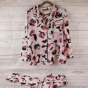 Kate Spade M Floral Pajama Set Cropped Medium